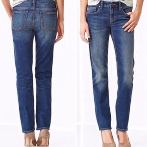GAP Petite 2P Real Straight Casual Classic Jeans